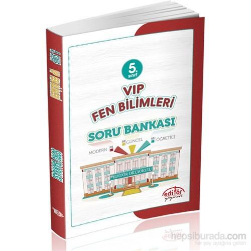 Editör 5.Sınıf Vip Fen Bilimleri Soru Bankası - Suat Meriç