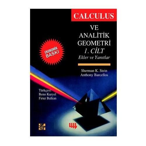 Calculus Ve Analitik Geometri 1.Cilt (ekonomik Baskı)