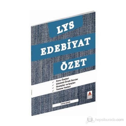 Delta LYS Edebiyat Özet - Tufan Şahin