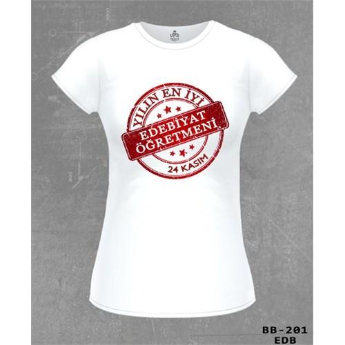 Lord Yılın En İyi Edebiyat Öğretmeni Kadın Tshirt