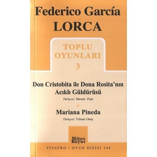 Federico Garcia Lorca / Toplu Oyunlar 3