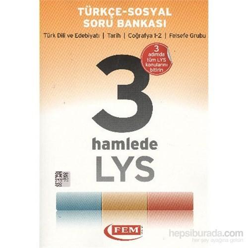 Fem 3 Hamlede LYS Türkçe Sosyal Soru Bankası