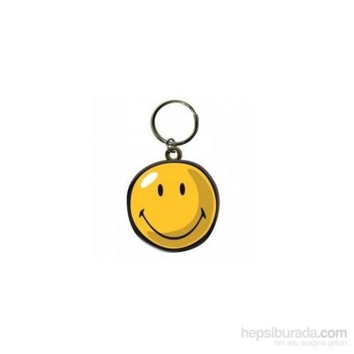 Smiley Happy Toony Icon Anahtarlık