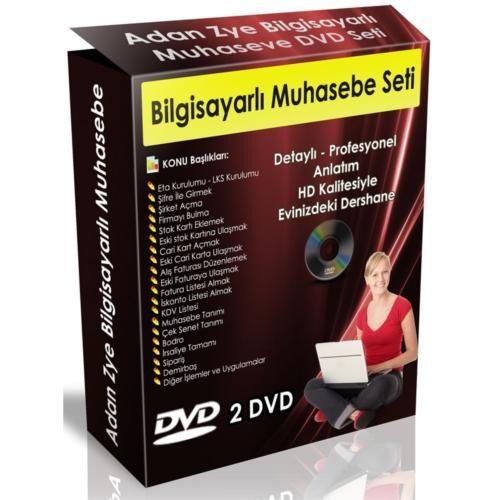 A'dan Z'ye Bilgisayarlı Muhasebe Seti (2 Dvd)