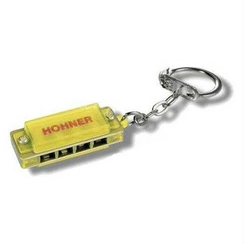 Hohner Mızıka Anahtarlık M91301-Yw Sarı