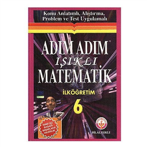 Işıklı Yayınları 6.Sınıf Adım Adım Matematik
