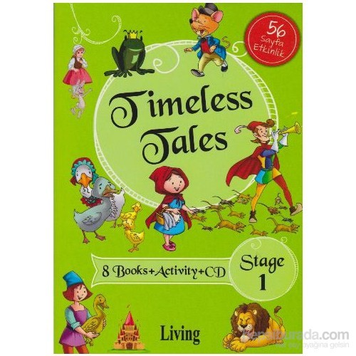 Stage 1: Timeless Tales 8 Kitap Set