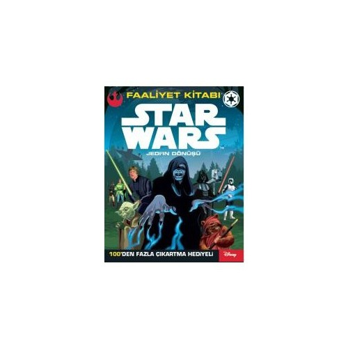 Disney Starwars: Jedi'İn Dönüşü (Faaliyet Kitabı)-Kolektif