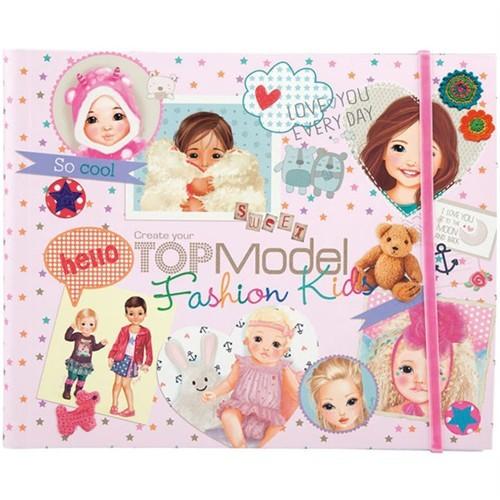 Top Model Kids Fashion Boyama Kitabı 7981