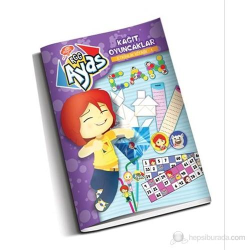 Kağıt Oyuncaklar-Etkinlik Kitabı
