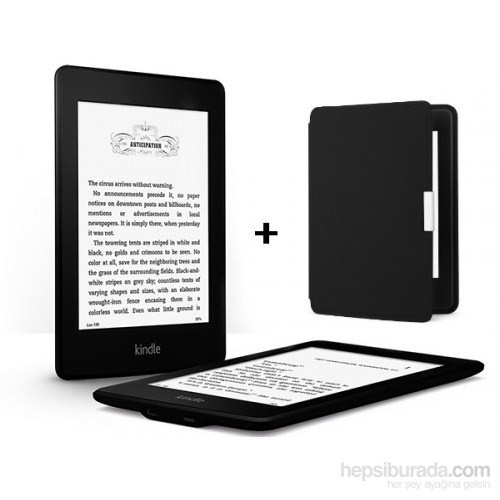Kindle Paperwhite 2014 Elektronik Kitap Okuyucu ve Kılıfı (4 GB)