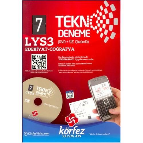 Körfez Tekno Deneme Lys-3 7'Li Fasikül Deneme (Dvd'li)