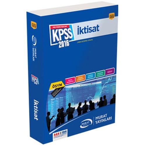 Murat Kpss 2016 A Grubu İktisat Konu Anlatımlı-Kolektif