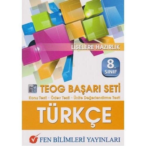 Fen 8. Sınıf Teog Türkçe Başarı Seti