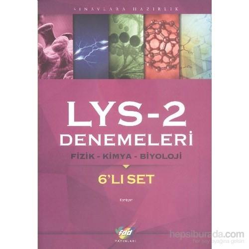 FDD LYS 2 Denemeleri Fizik Kimya Biyoloji (6'lı Set)