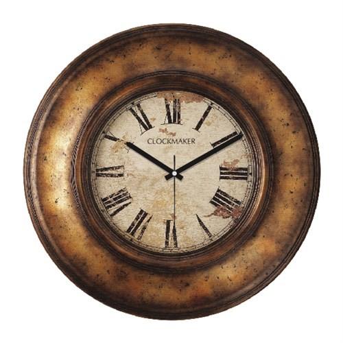 Clockmaker By Cadran Retro Vintage 30X30 Mdf Duvar Saati Cmm69