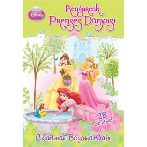 Disney - Rengarenk Prenses Dünyası (4 Yaş Üzeri)