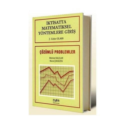 İktisatta Matematiksel Yöntemlere Giriş-J. Colin Glass