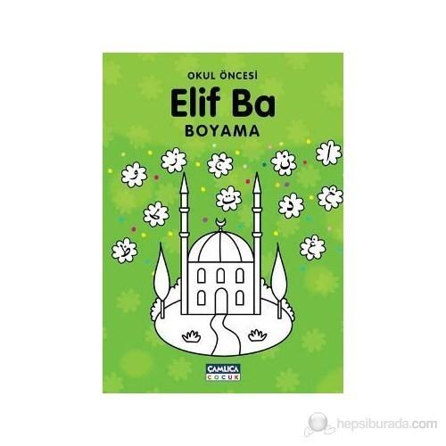Okul Öncesi Elif Ba Boyama - Bilal Gezer