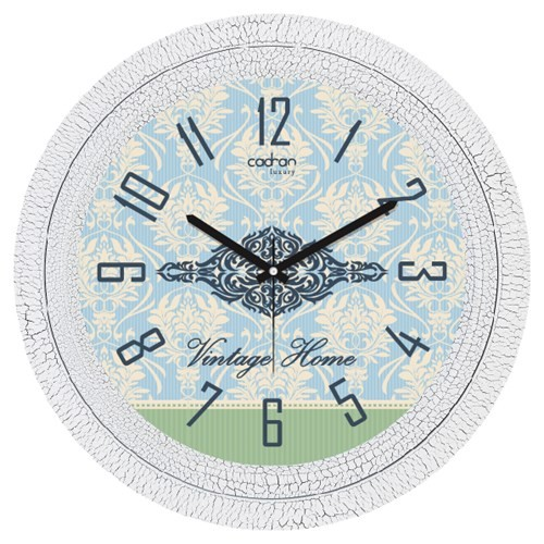 Cadran Luxury Dekoratif Çatlak Desen Duvar Saati-20