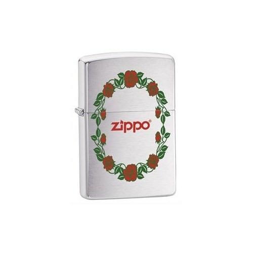 Zippo 200 Zippo Rose Border Çakmak