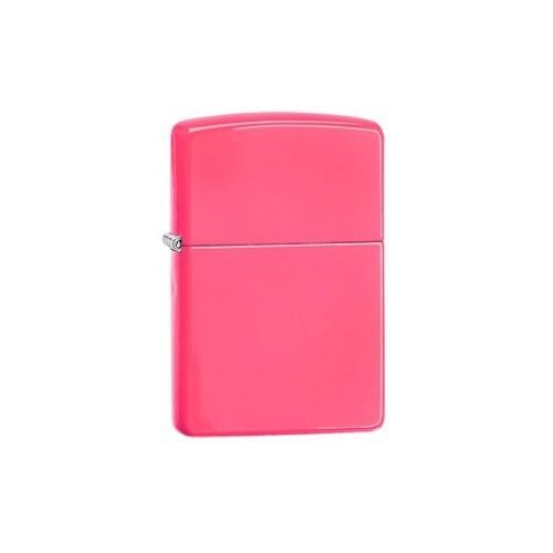 Zippo Reg Neon Pink Lighter Çakmak