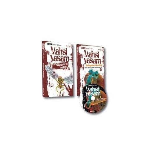 Vahşi Yaşam 2 - Sürüngenler ve Kanatlılar (Kitap + Dvd)