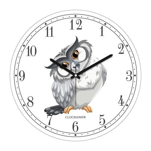 Clockmaker By Cadran 30X30 Mdf Duvar Saati Cmm190