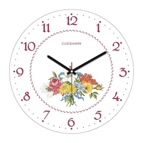 Clockmaker By Cadran 30X30 Mdf Duvar Saati Cmm199