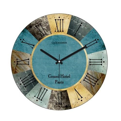 Clockmaker By Cadran 30X30 Mdf Duvar Saati Cmm2