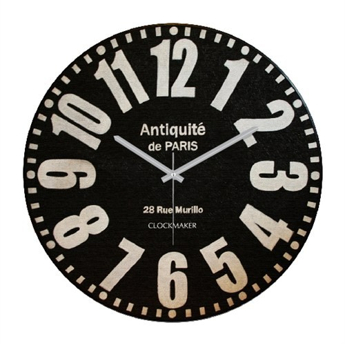 Clockmaker By Cadran Retro Vintage 30X30 Mdf Duvar Saati Cmm45