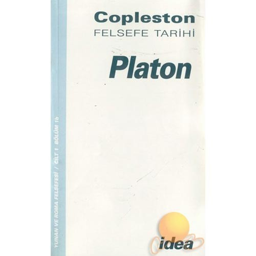Felsefe Tarihi - Platon-Frederick Copleston