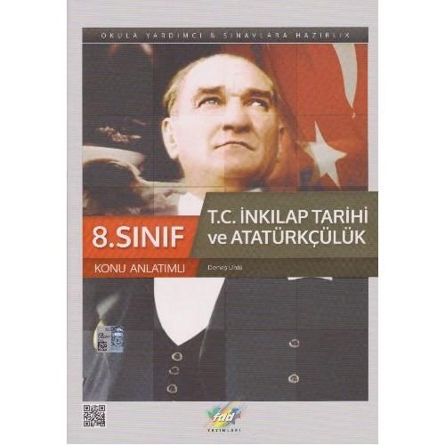 Fdd 8. Sınıf T.C. İnkılap Tarihi Ve Atatürkçülük Konu Anlatımlı-Derviş Ünlü