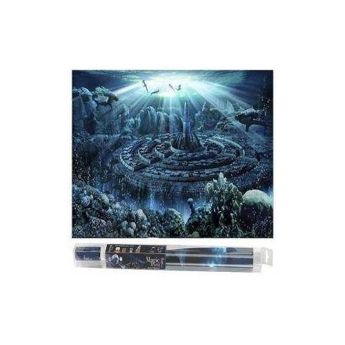 Hydor H2o Show Atlantis Akvaryum Arka Fon Ve Yapıştırıcısı