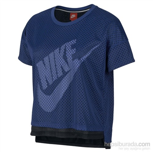 Nike Crop Tee-Mesh T-Shirt