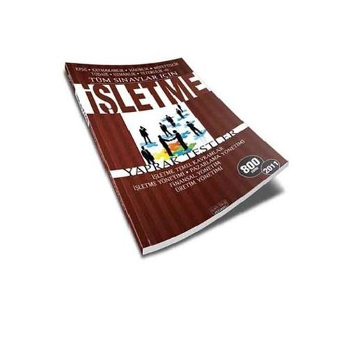 Savaş Yayınları Tüm Sınavlar İçin İşletme Yaprak Test 2011