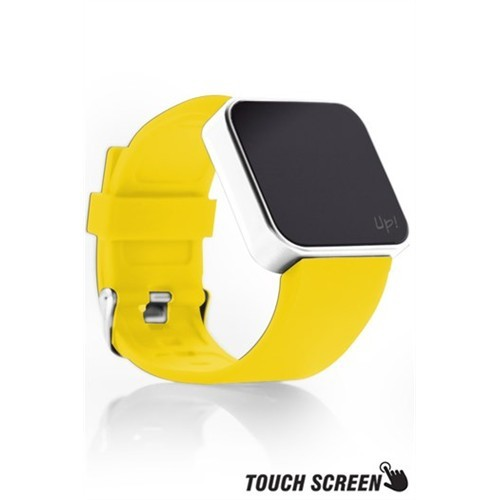 Upwatch Touch Shiny Silver&Yellow Kol Saati