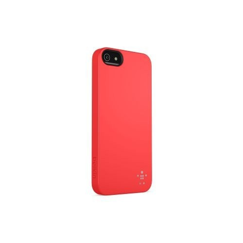 Belkin iPhone 5 Arka Kapak - Kırmızı F8W127vfC03