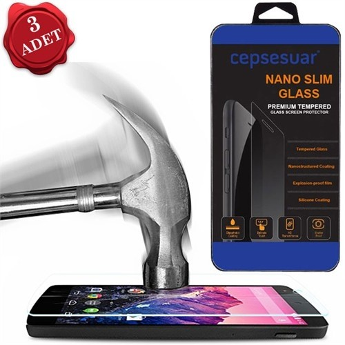 Cepsesuar Samsung Galaxy S4 Mini Ekran Koruyucu 3 Adet