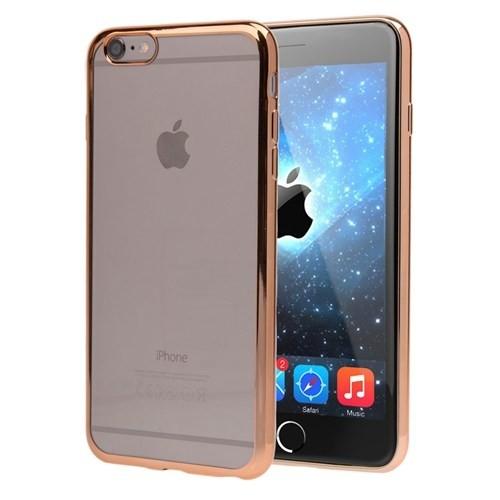 Microsonic Apple İphone 6 Kılıf Flexi Delux Gold