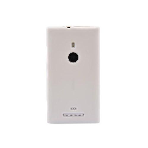 Vacca Nokia Lumia 925 Plastic Business Class Beyaz Kapak