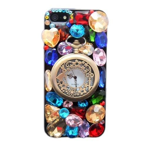 Vacca Apple İphone 5 Heritage 1 - Sultanin Hazinesi - Saatli Kapak
