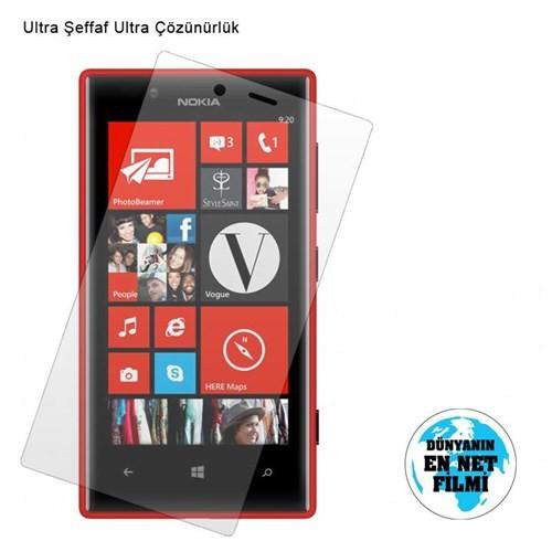 Vacca Nokia Lumia 720 Ultra Şeffaf Ekran Filmi