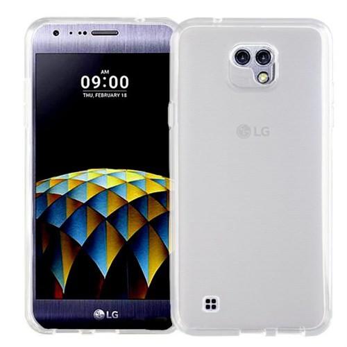 Microsonic Lg X Cam Kılıf Transparent Soft Beyaz