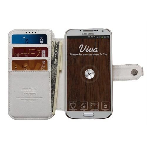 Kalaideng Viva Series Samsung S4 Kılıf Beyaz