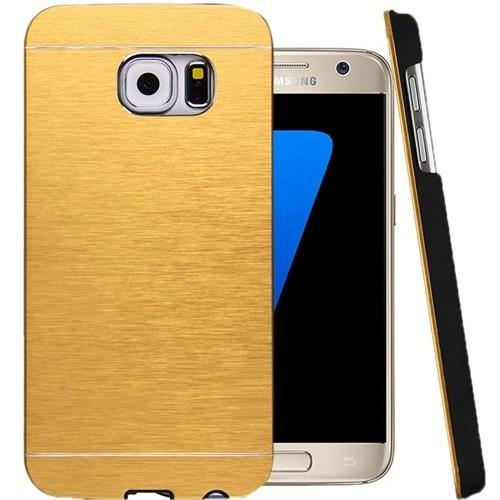 CoverZone Samsung Galaxy A3 Kılıf 2016 A310 Motomo Sert Gold