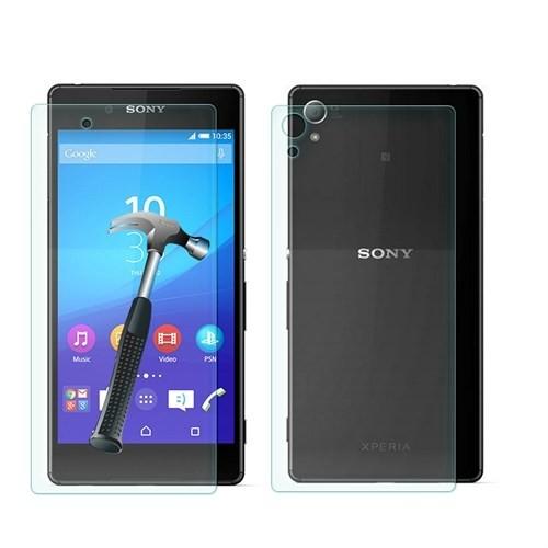 Cep Market Sony Xperia Z3 Plus-Z4 Cam Ön Arka Ekran Koruyucu