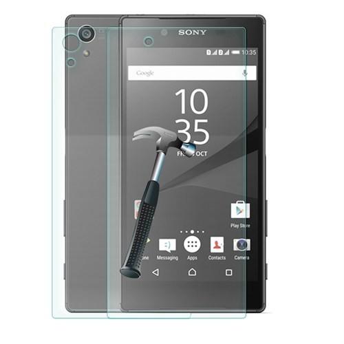 Cep Market Sony Xperia Z5 Cam Ön Arka Ekran Koruyucu