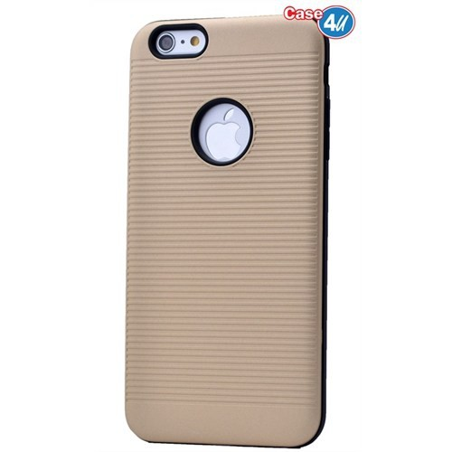 Case 4U Apple İphone 6 You Koruyucu Kapak Altın