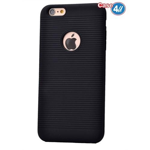 Case 4U Apple İphone 6 Plus You Koruyucu Kapak Siyah
